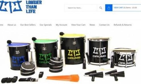 Brazilian Samba Drums