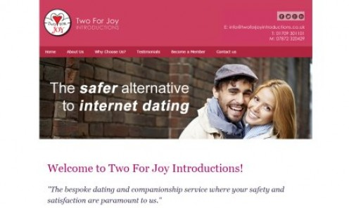 Dating agency, based in Rotherham, South Yorkshire, serving Barnsley, Doncaster and Sheffield