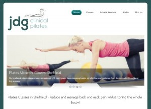 JDG Clinical Pilates, based in Sheffield, South Yorkshire.