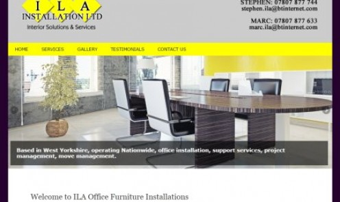 ILA Office Furniture Installation