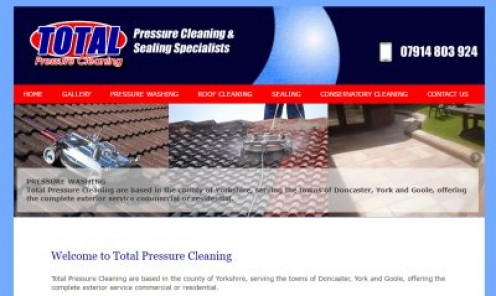 Pressure cleaning drives, patios, decking and roofs in the York and Doncaster areas.