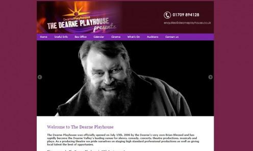 Dearne Playhouse theatre, Goldthorpe, Barnsley.