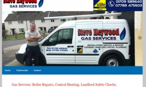 Steve Heywood Gas Services Rotherham, Mexborough, South Yorkshire