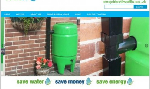 Watflo rainwater harvesting and grey water recycling systems.