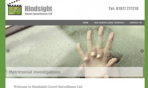 Hindsight Covert Surveillance are a Private Investigations company based in Pontefract, West Yorkshire.